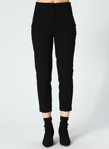 Random Kumaş Pantolon Siyah